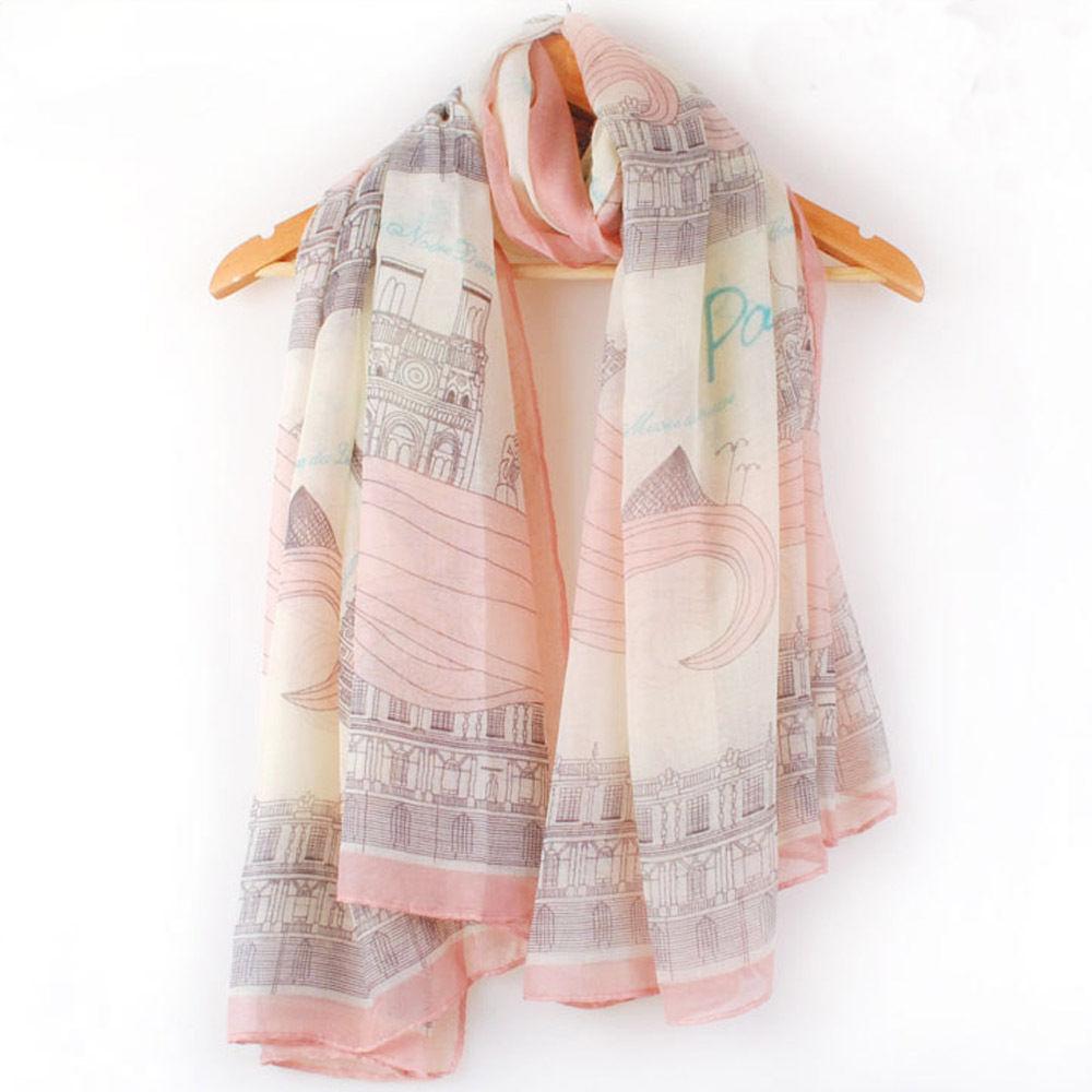 [해외]1PC 유행 여자 여아 긴 인쇄면 스카프 목도리 큰 실크 스카프 Pashmina 여름 또는 겨울 또는 가을/1PC Stylish Women Girl Long Print Cotton Scarf  Shawl Large Silk Scarves Pashmina Summ