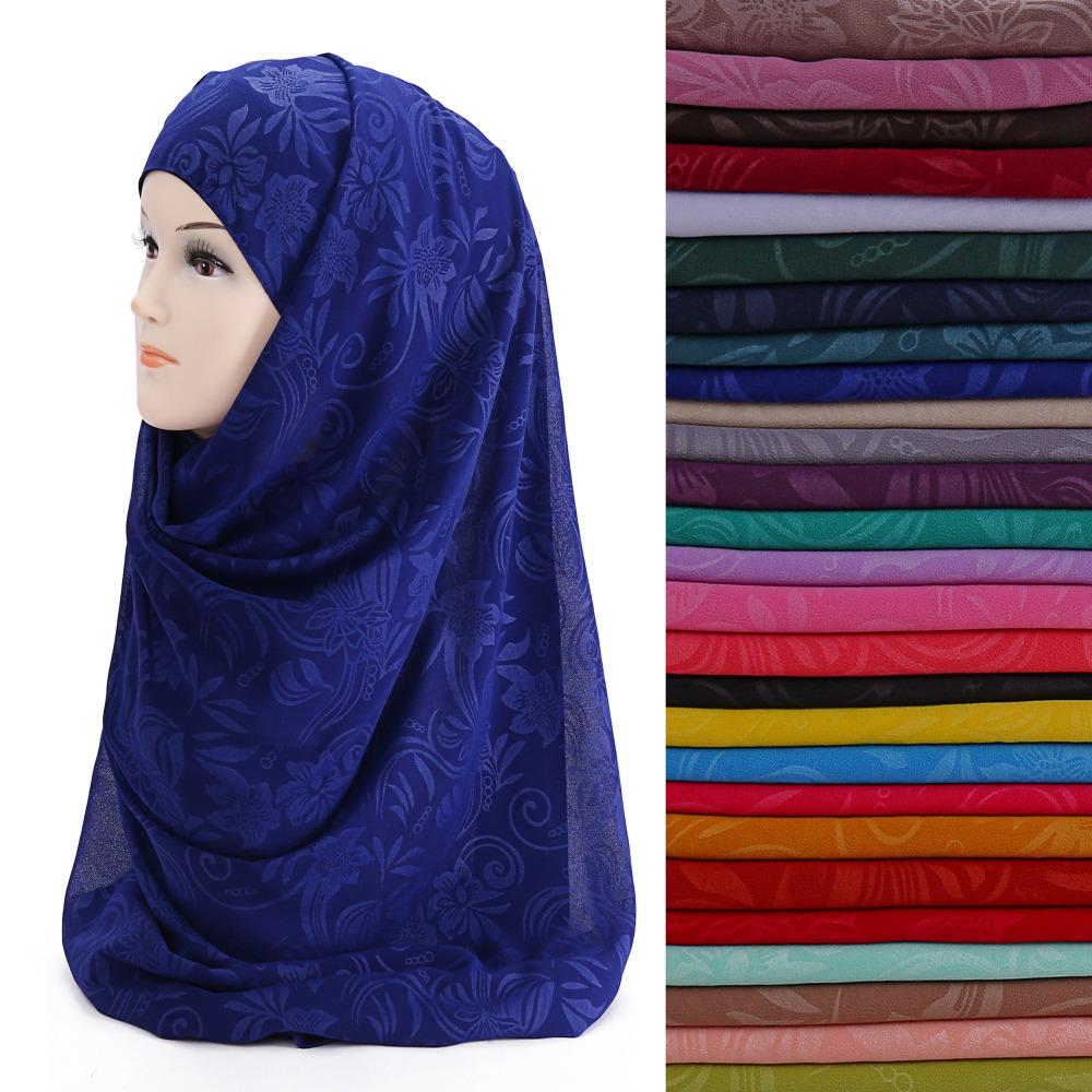 [해외]꽃 인쇄 이슬람 Hijab 스카프 목도리 머리 랩 모자를 쓰고 있죠 시폰 부드러운/Floral Print Muslim Hijab Scarf Shawl Head Wrap Headwear Bubble Chiffon Soft