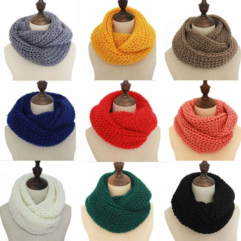 [해외]겨울 여성 니트 스카프 Lic 여성 링 칼라 목 스카프 따뜻한 남자 여자 & s 크로 셰 뜨개질 반지 스페인 Loop 스카프 레이디/Winter Women Knitted Scarves Lic Female  Ring Collar Neck Scarf Warm