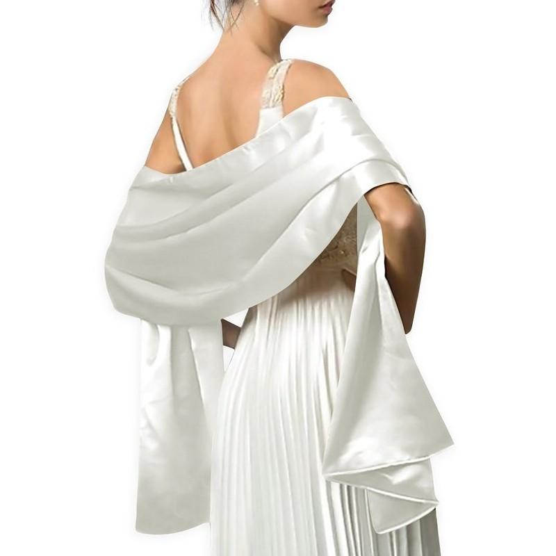 [해외]2018 여자를새틴 숄 스카프 이브닝 드레스 178 * 46cm 긴 파티 Colorfully Shawls 및 랩 사용자 정의 만든 수 색/2018 Satin Shawl Scarf for Women Evening Dresses 178*46cm Long Party