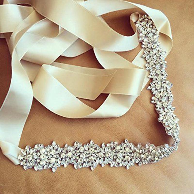 [해외]웨딩 장식 띠 신부 벨트 웨딩 진주 벨트 라인 석 벨트 크리스탈 라인 석/Wedding Sash bridal Belt Wedding Pearls Belt Rhinestone Belt Crystal Rhinestone