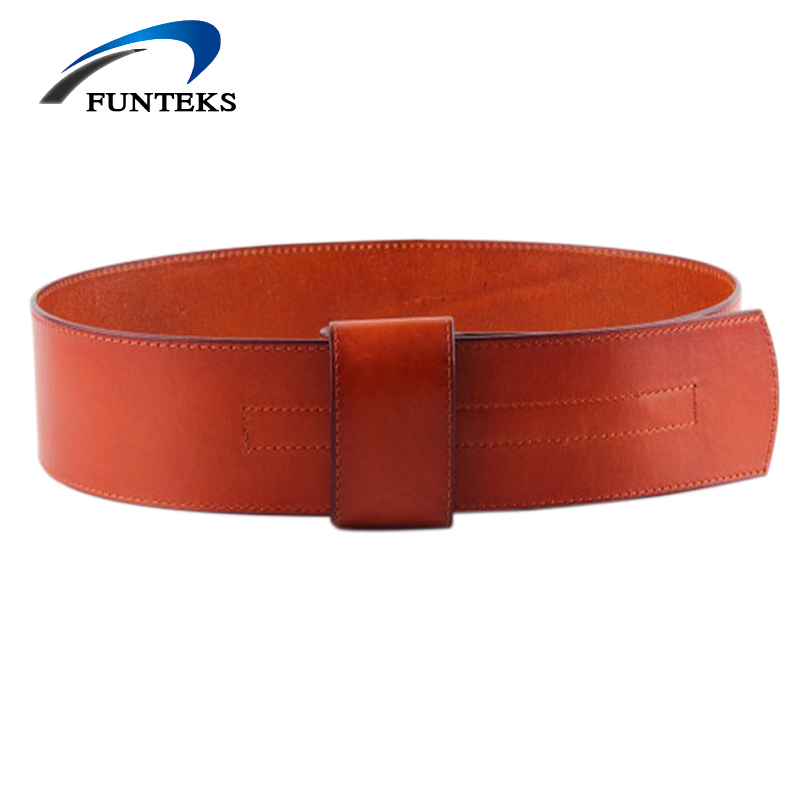 [해외]FUNTEKS 첫 번째 레이어 자연 쇠가죽 가죽 넓은 벨트 여성을패션 빈티지 캐주얼 벨트 여성 스트랩 벨트 드레스 & amp; 코트/FUNTEKS First Layer Nature Cowhide Leather wide Belts for Women Fash