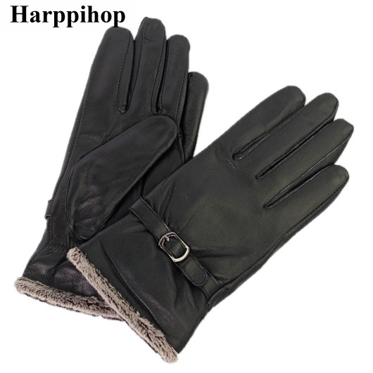 [해외]2017 겨울 양피  가죽 장갑 여성 및 면화 듀얼 열 가죽 장갑/2017 winter sheepskin genuine leather gloves women&s plus cotton double thermal leather gloves