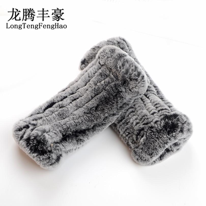 [해외]2017 진짜 토끼 모피 장갑 니트 여성 장갑 패션 겨울 장갑 진짜 모피 따뜻한 장갑 8 색 100 %  모피 장갑/2017 Real rabbit Fur Gloves Knitted Women Mittens Fashion Winter Gloves Real Fur