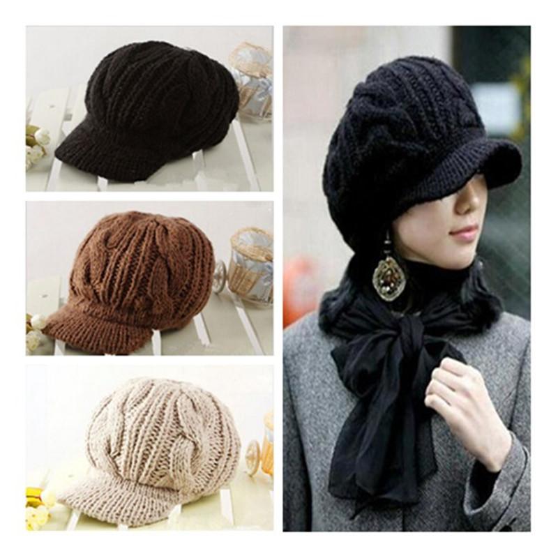 [해외]새 도착 피크 모자 여성 모자 겨울 모자 모자 여성용 레이디 & s의 모자를 쓰고 있죠 모자 악세사리 세련된 선물/New Arrival Peaked Cap Women Hat Winter Caps Knitted Hats For Woman Lady&s Hea