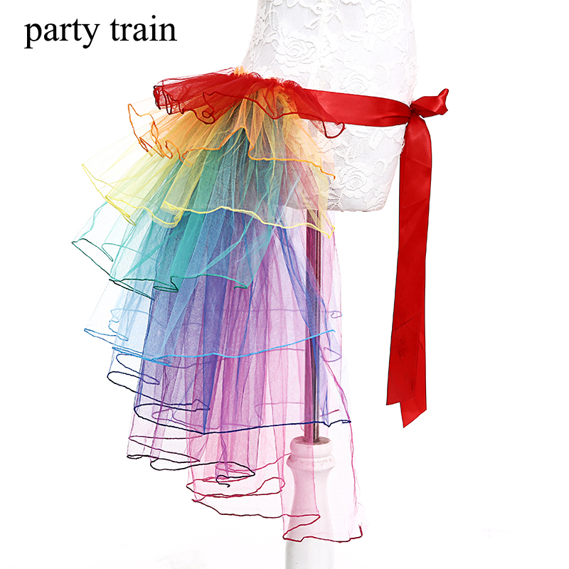 [해외]New 도착 성인 Tulle Skirt 레인보우 테일 Tutu Skirt 케이크 Bitter Fleabane Skirt 발레 스커트 여성용 거즈 CustumeParty/New Arrive Adult Tulle Skirt Rainbow Tail Tutu Skirt