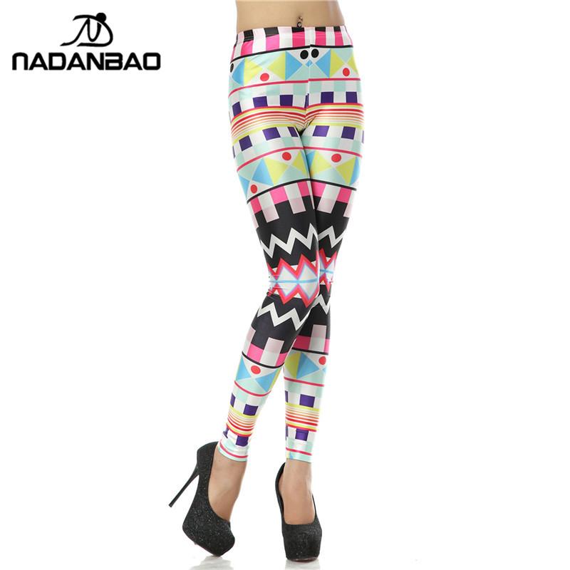 [해외]패션 슬림 Legins 모로코 아트 3D 디지털 Leggins 인쇄 여자 레깅스 KDK1125/Fashion Slim Legins Moroccan Art 3D Digital Leggins Printed Woman Leggings KDK1125