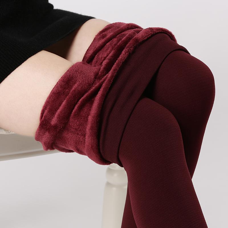 [해외]S-3XL 높은 탄력있는 허리 동포 플러스 벨벳 두꺼운 Women s s 레깅스 Warm Pants 캐시미어 두꺼운 trousers 여성/S-3XL High Elastic Waist Winter Plus Velvet Thicken Women&s Leggings