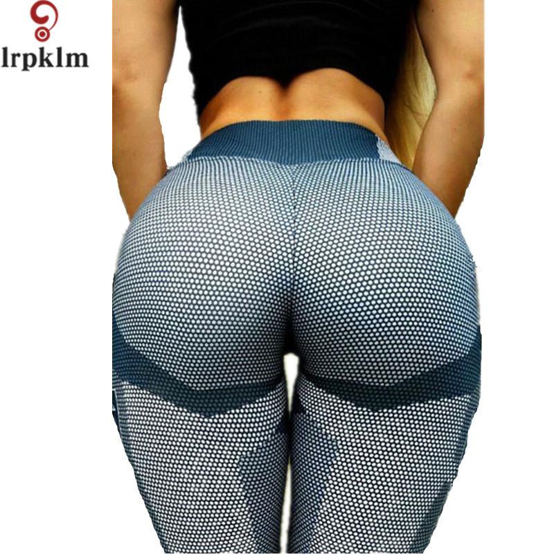 [해외]높은 허리 Athleisure Legging 스포츠 인쇄 3D 하라주쿠 탄성 피트 니스 레깅스 Jegging 여자 긴 바지 DK15를 밀어/High Waist Athleisure Legging Sportswear Print 3D Harajuku Elastic F