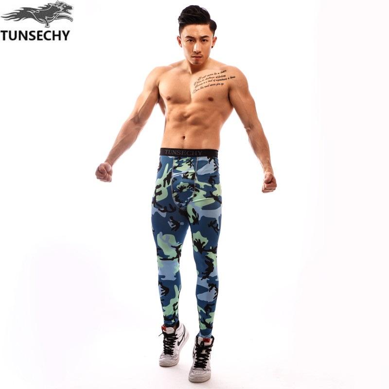 [해외]TUNSECHY brand new 2017 위장 바지 남성 피트니스 남성용 조깅화 압축 팬츠 남성 바지 보디 빌딩 타이츠 레깅스/TUNSECHY brand new 2017 Camouflage Pants Men Fitness Mens Joggers Compress