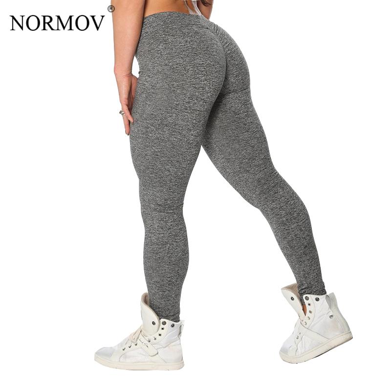 [해외]NORMOV S-XL 3 색 캐주얼 푸시 업 레깅스 여성 여름용 운동복 폴리 에스테 제갈스 통기성 슬림 레깅스 여성/NORMOV S-XL 3 Colors Casual Push Up Leggings Women Summer Workout Polyester Jeggi