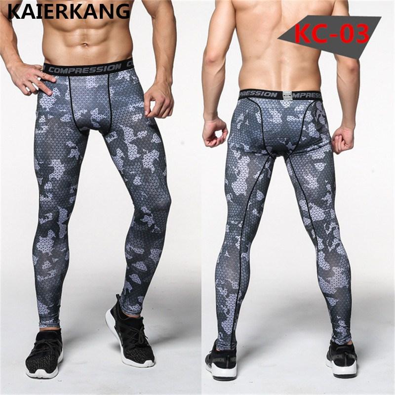 [해외]2017 새로운 위장 압축 바지 남자 브랜드 바지 Mens 패션 보디 빌딩 레깅스 고탄성 스키니 레깅스/2017 New Camouflage Compression Pants Men brands trousers Mens fashion Bodybuilding Legg