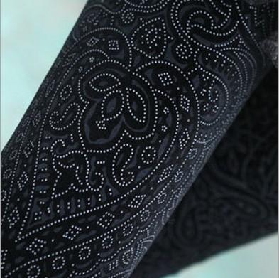 [해외]2018 년 봄 신사 숙녀 패션 패턴을한국 슬림 벨벳 레깅스 Pleuche Pencil Pants Skinny Trousers/2018 New Spring Women Carved Pattern Korean Slim Velour Leggings For Womens