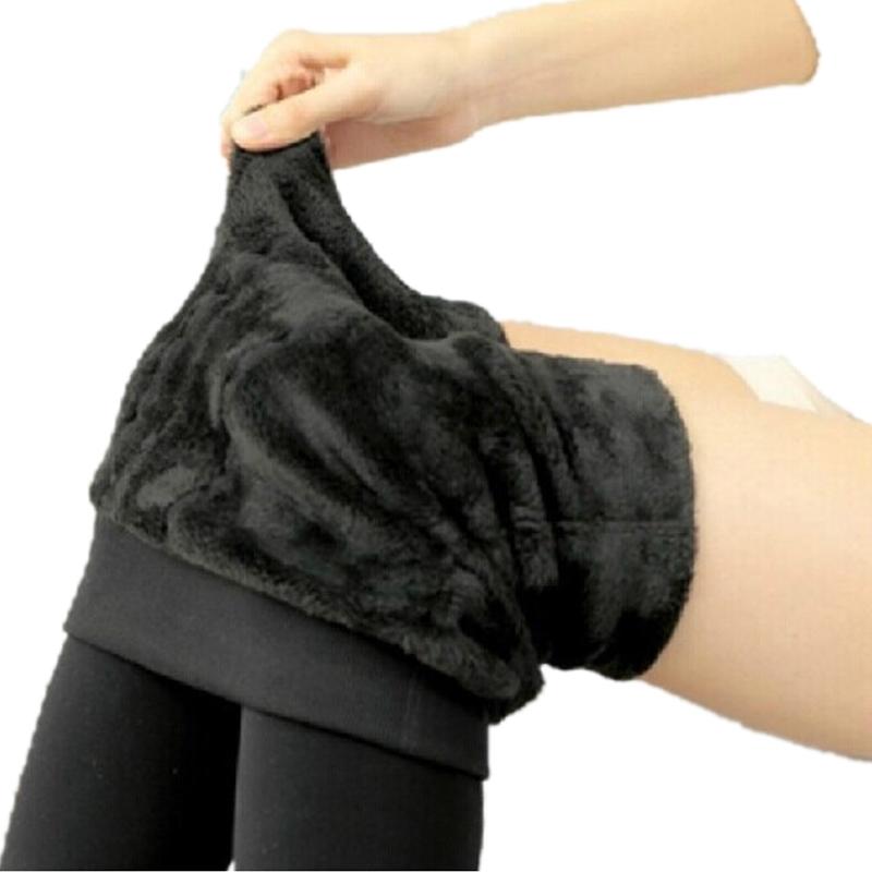 [해외]여성 레깅스 두꺼운 모피 따뜻한 휘트니스 레깅스 겨울 따뜻한 양 털 다리 스트레칭 레이디 바지 여성 바지 여성 레깅스 G0642/Women Leggings Thicken Fur Warm Fitness Leggins Winter Warm Fleece Legging