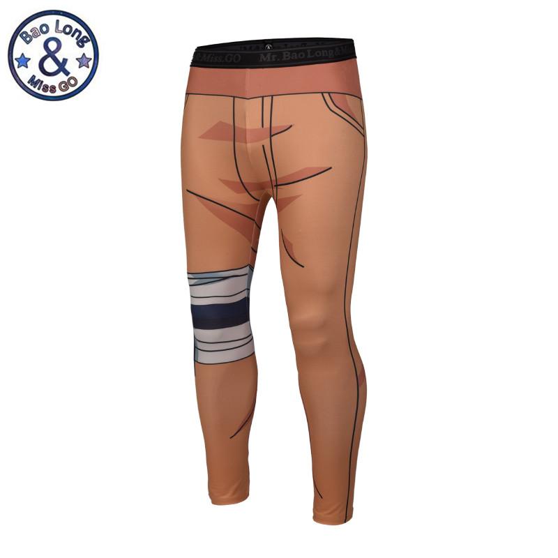 [해외]브랜드 뉴 디자인 3D 프린트 남성용 패션 쿨 바지 애니메이션 나루토 타이츠 스키니 팬츠 레깅스 플러스 사이즈 M-3XL/Brand New Design 3D Print Men&s Fashion Cool Trousers Anime Naruto Tights Skin