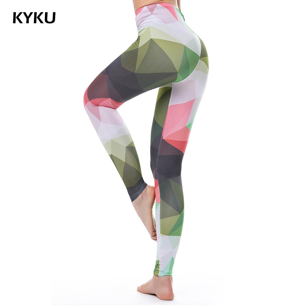 [해외]여성용 하이 웨이스트 화려한 레깅스 레깅스 레깅스 여성용 위장 레깅스 섹시한 패션 슬림 제넥스 KYKU/High Waist Colorful Leggings For Women Fitness Legging Push Up Leggings Women Camouflage