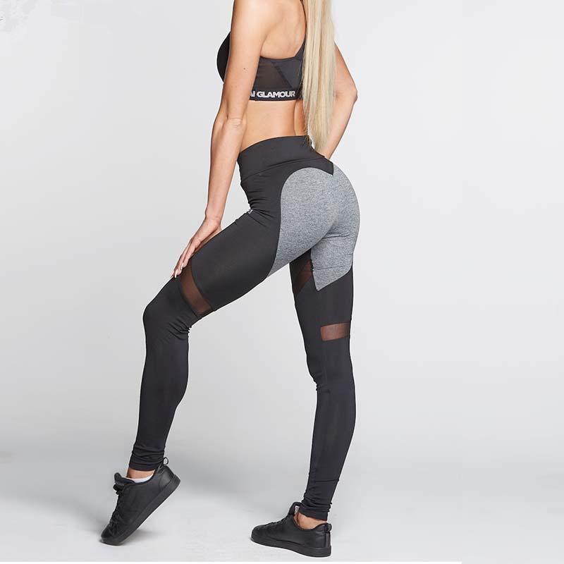 [해외]여성용 하트 패턴 레깅스 고탄성 체력 용 레깅스 신착 품용 평범한 탄성 메쉬 스플라인 레깅스/Women Heart Pattern Leggings High Elastic Fitness Leggings New Arrival Ladies Plain Elastic Me
