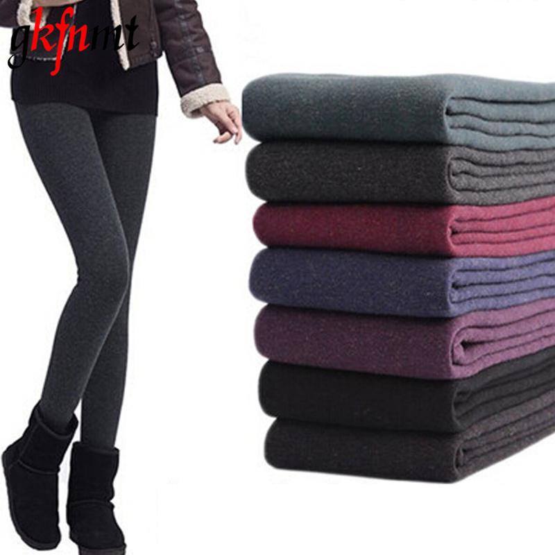 [해외]2017 새로운 레깅스 여성 가을, 겨울 여자 따뜻한 겨울 밝은 벨벳 니트 두꺼운 다리가있는 슈퍼 탄성 바지/2017 New Leggings Women Autumn And Winter Girls Warm Winter Bright Velvet Knitted Thi