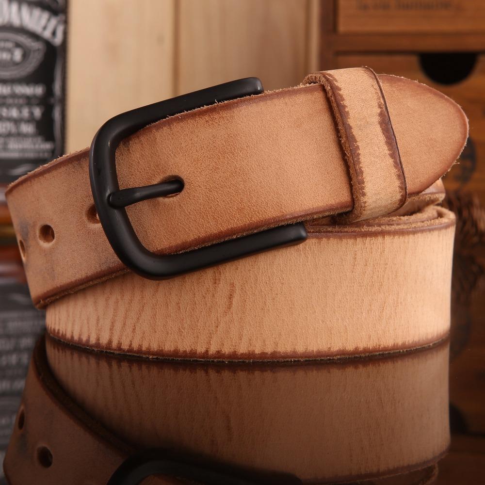 [해외]2017 새로운 Hot 디자이너 벨트 남자 고품질 고급 ceintures cintos 100 % 진짜 진짜 가죽 캐주얼 전체 곡물 카우보이 청바지/2017 new hot designer belts men high quality luxury ceintures ci