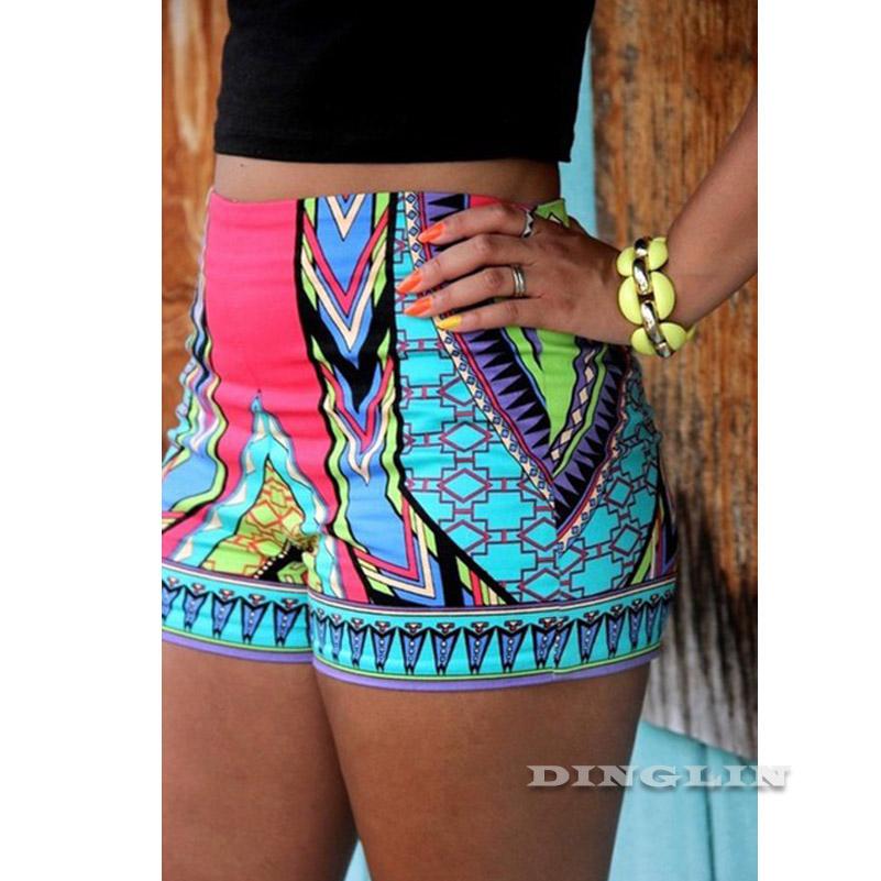 [해외]GZDL 새로운 스타일 섹시 Boho 패션 여성 & 섹시 핫 짧은 여름 캐주얼 반바지 하이 웨스트 짧은 CL2979/GZDL  New Style Sexy Boho Fashion Women&s Sexy Hot Short Summer Casual Shorts
