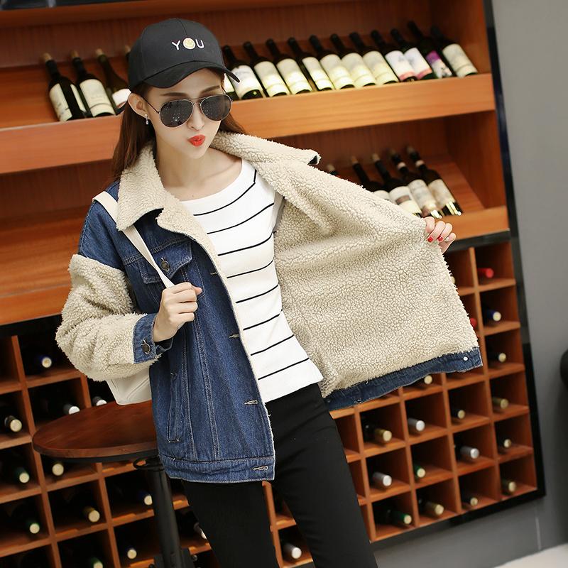 [해외]5XL Large Plus Size 여성 봄 가을 범퍼 코트 데님 자켓 숙녀 용 재킷 여성 겨울 범퍼/5XL Large Plus Size Women Spring Autumn Bomber Coat Jeans Denim Jacket Ladies Windbreaker