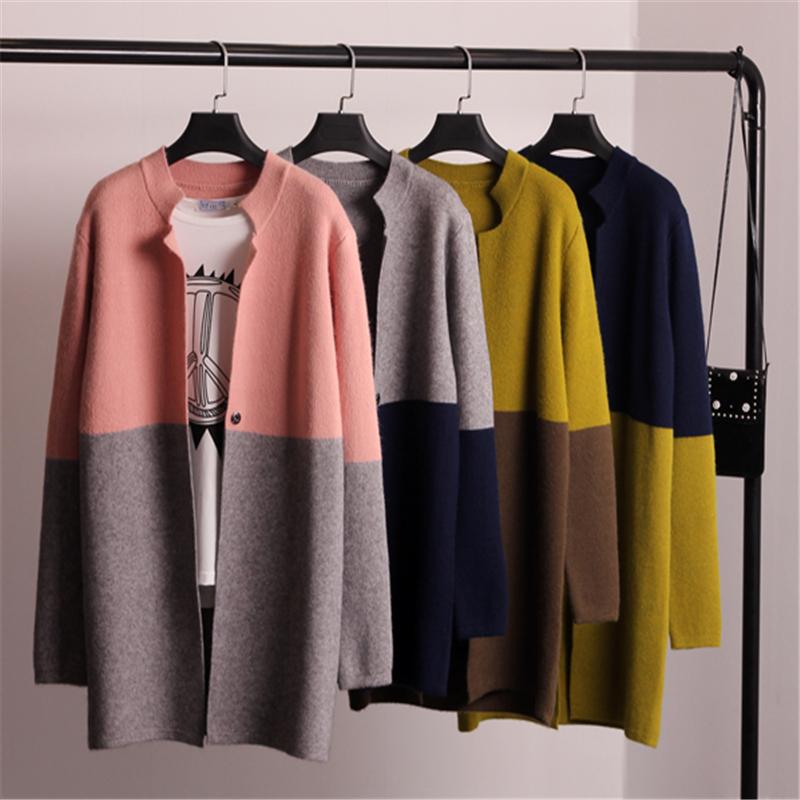 [해외]여자 가을 겨울 자 켓 코트 긴 Retail 슬림 크로 셰 뜨개질 니트 여성 스웨터 카디 건 겨울 탑 SW424/Women Autumn Winter Jacket Coat Long Sleeve Slim Crochet Knit Women Sweater Cardiga