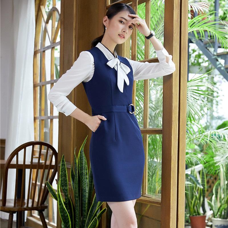 [해외]숙녀 작업에 대한 새로운 패션 줄무늬 DressBlouse는 유니폼 스타일을 착용 전문 블레이져 정장 플러스 크기 4XL/New Fashion Striped DressBlouse For Ladies Work Wear Uniform Styles Profession