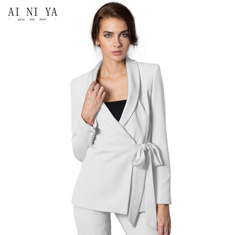[해외]새로운 바지 정장 여성 캐주얼 오피스 비즈니스 정장 정장 작업복 2 조각 세트 유니폼 스타일 패션 우아한 레이디 바지 정장/New Pant Suits Women Casual Office Business Suits Formal Work Wear 2 Piece Se