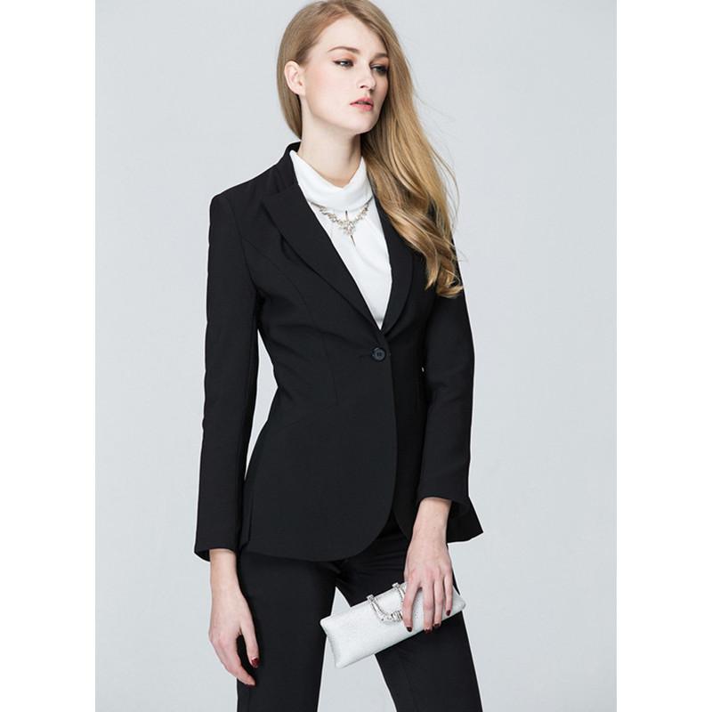 [해외]Pantalones Mujer 봄과 가을 플러스 크기 숙녀 정장 맞춤 제작 여성 패션 사무복 업무 전문가/Pantalones Mujer Spring And Autumn Plus Size Ladies Business Suits Custom Made Women Fa
