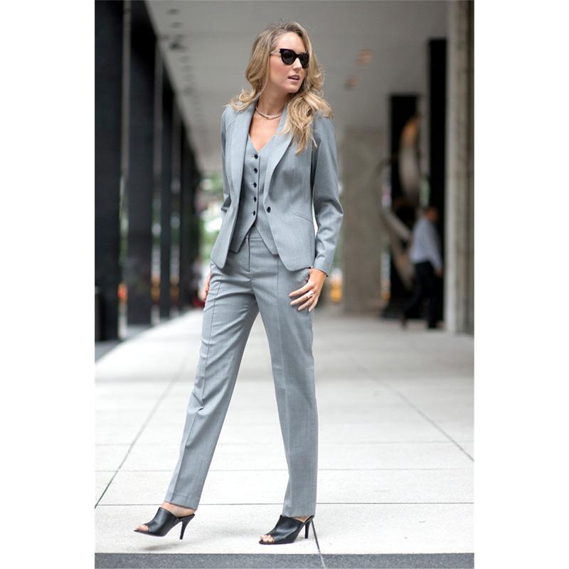 [해외]패션 우아한 공식적인 작업복 바지 정장 슬림 2 조각 세트 여성 비즈니스 정장 블레이저 여성 바지 정장 사무실 유니폼/Fashion Elegant Formal Work Wear Pant Suits Slim 2 Piece Sets Womens Business Su