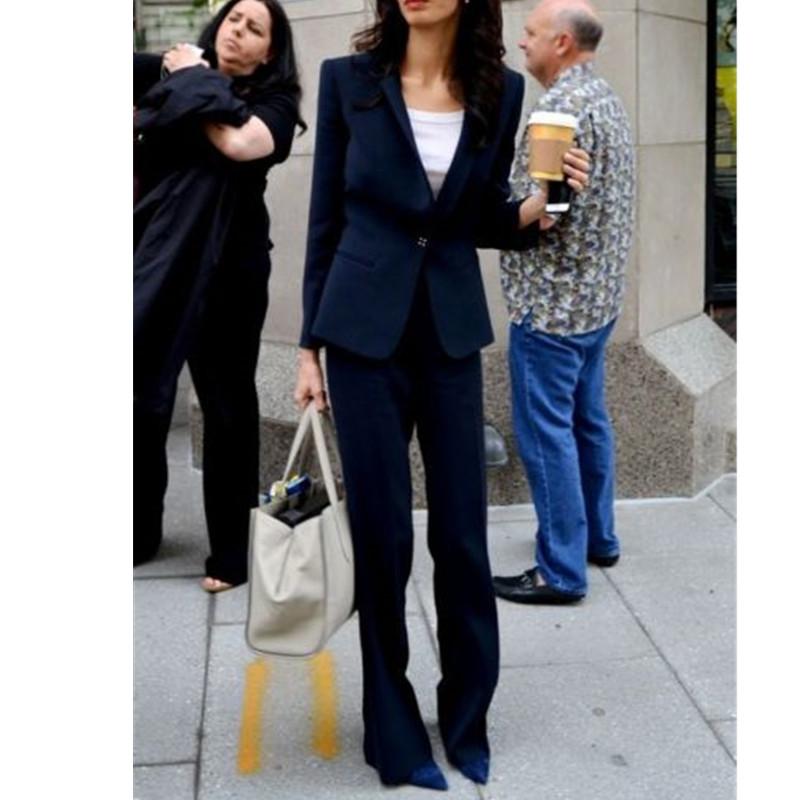 [해외]새로운 여성 & 정장 2 피스 오피스 비즈니스 턱시도 자켓 + 바지 정장 맞춤형 여성 정장 바지 정장/New Women&s Formal 2 Piece Office Business Tuxedos Jacket+Pants Suits Bespoke womens