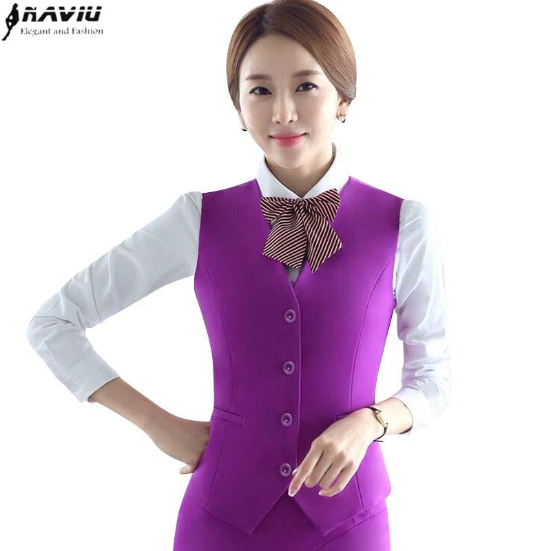 [해외]새로운 패션 여성 조끼 스커트 정장 OL 슬림 공식적인 비즈니스 V - 목 조끼와 치마 세트 작업 착용 사무실 숙녀 플러스 사이즈 유니폼/New fashion women vest skirt suit OL slim formal Business V-neck Vest
