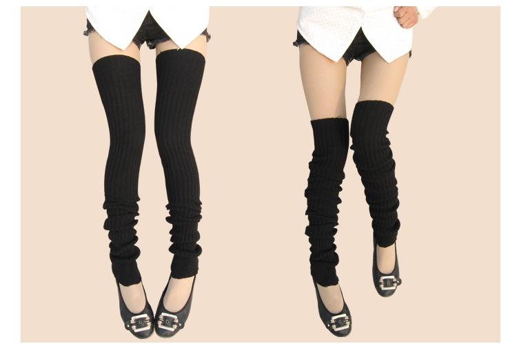 [해외]새로 디자인 슈퍼 긴 겨울 따뜻한 다리를 따뜻하게 무릎 높은 양말 여위는 스타킹 Aug12 이상/Newly Design Super Long Winter Warm Leg Warmers Over Knee High Socks Skinny Stockings Aug12
