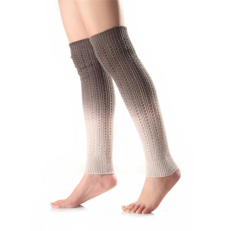 [해외]1 쌍 겨울 따뜻한 여성 다채로운 크로 셰 뜨개질 니트 다리 부팅 양말 토퍼 커프스/1 pair Winter Warmer Women Colorful Crochet Knit Leg Boot Socks Toppers Cuffs