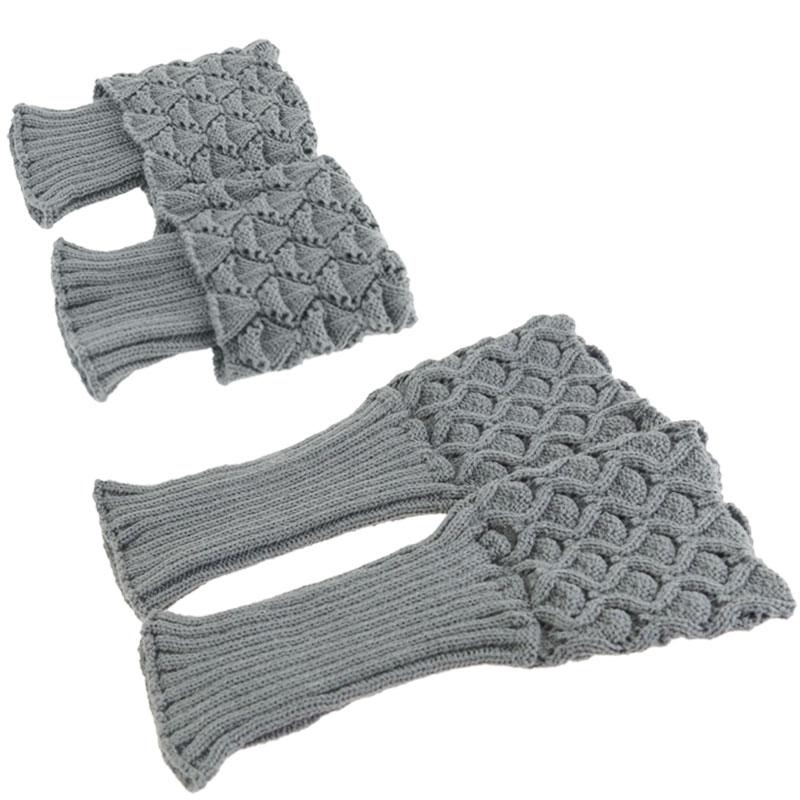 [해외]핫 세일 새 여자 숙녀 크로 셰 뜨개질 니트 쉘 디자인 부츠 커프스 Toppers 뜨다 레그 워머 겨울 짧은 라이너 부팅 양말 Z2/Hot Selling New Women Ladies Crochet Knitted Shell Design Boot Cuffs Top