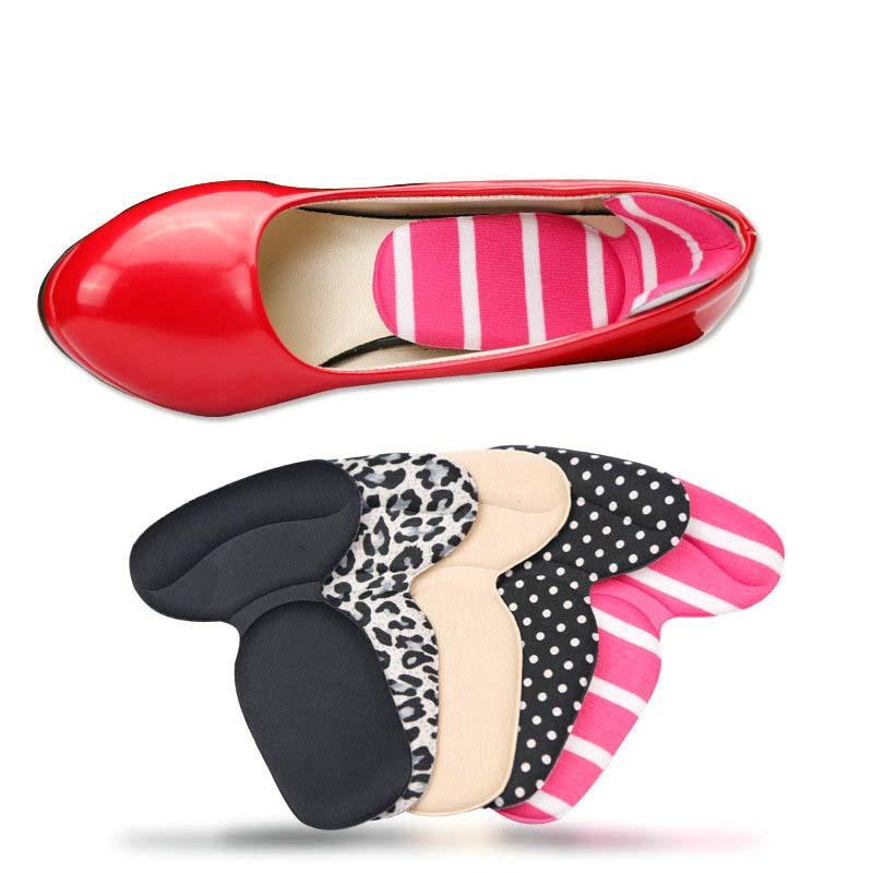 [해외]3 쌍 T- 모양의 Insoles 높은 뒤꿈치 신발 패드 슈퍼 부드러운 깔 창 미끄럼 스폰지 쿠션 발 뒤꿈치 프로텍터/3 pairs T-Shape Insoles High Heel Shoes Pad Super Soft Insole Non Slip Sponge Cu