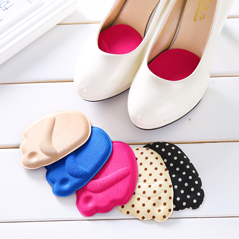 [해외]부드러운 두꺼운 4D 거품 반 솔 밑창 신발 하이힐 쿠션 프로텍터 발 발 관리 발 앞꿈치 삽입 패드 라이너 그립/Soft Thickened 4D Foam Half Soles Insoles Shoes High Heels Cushion Protector Foot F