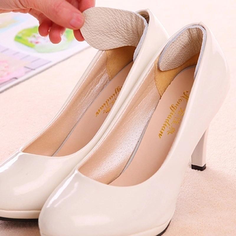 [해외]도매 10 쌍 클래식 PU 가죽 쿠션 힐 발 관리 신발 삽입 패드 깔창 소프트 구두 패드 Insoles 삽입/Wholesale 10 pairs Classical PU Leather Cushion Heel Foot Care Shoe Insert Pad Insole