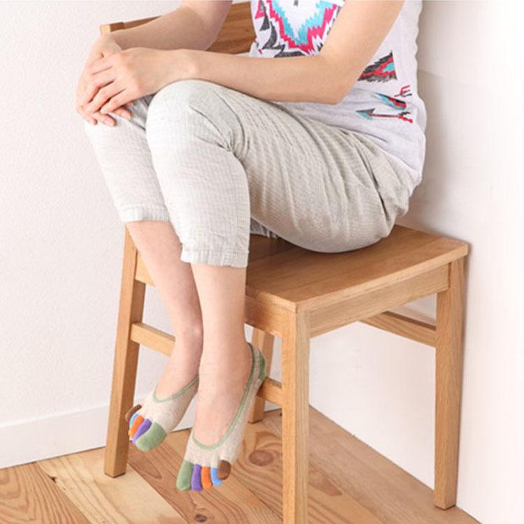 [해외]OUIRRY 자연 색 면직물 방지 마찰 라이너 양말 쇼 보이즈 배트 발레 여성용 일반 Footies Peds & amp; Liners/OUIRRY Nature Colored Cotton Anti-Friction Liner Socks No Show Peds