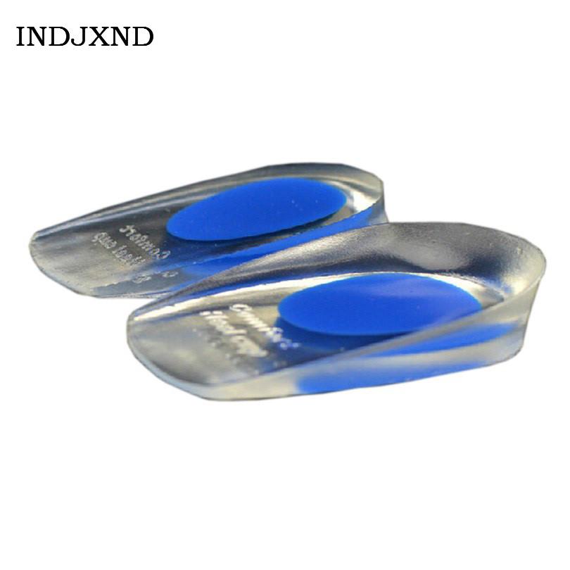 [해외]새로운 지원 Insoles 패션 여성 라이너 부드러운 고무 신발 패드 젤 고통 발 뒤꿈치 페달 컵 UniCushion 슈퍼 품질 Q047 증가/New Support Insoles Fashion Women Liners Soft Rubber ShoePad Gel P