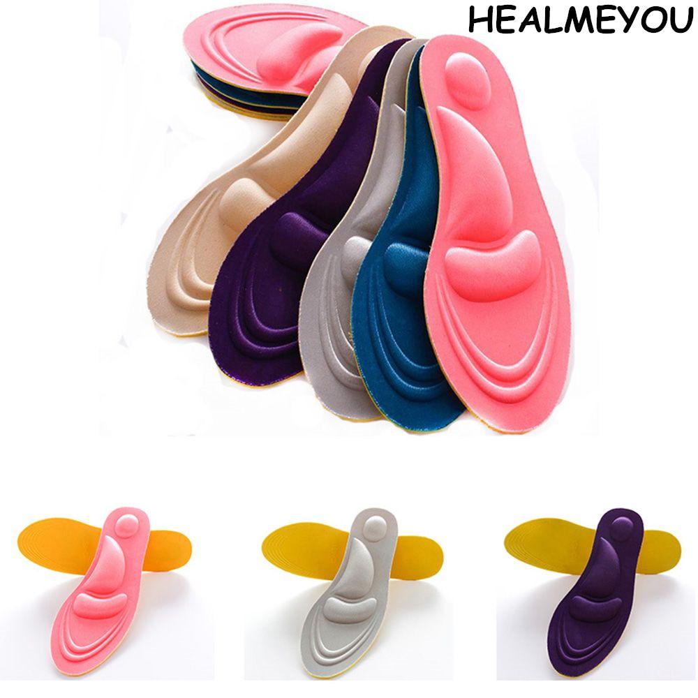 [해외]HEALMEYOU 4D UniMemory Foam 맞춤 마사지 신발 안창 트레이너 풋 케어/HEALMEYOU 4D UniMemory Foam Custom massage Shoe Insoles Trainer Foot Care