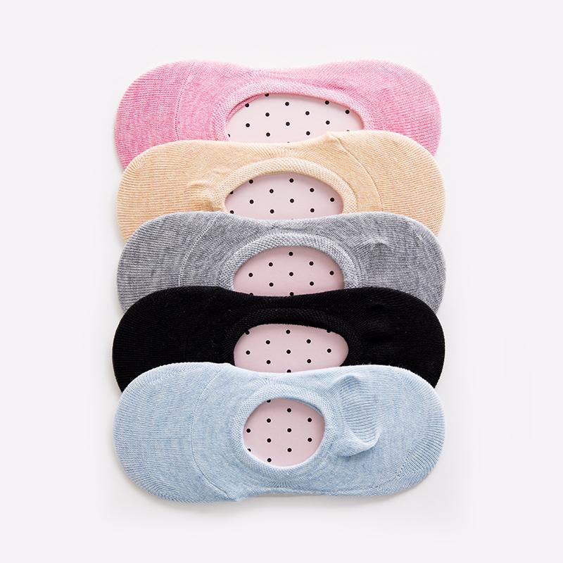 [해외]2017 새로운 패션 여성 양말 통기성 여름 코 튼 양말 여성 솔리드 보트 양말 보이지 않는 여성 구두 양말/2017 New Fashion Women Socks Breathable Summer Cotton Socks  Female Solid Boat Socks