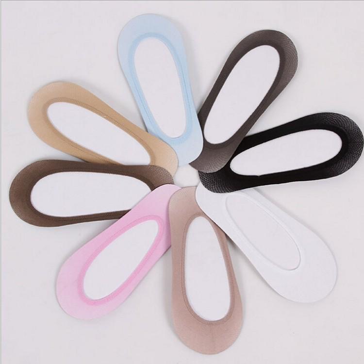 [해외]5 쌍 여성 슬리퍼 양말 보이지 않는 여성 쇼트 양말 무 땀 흡수 흡수 로우 컷 통기성 8 색/5 pair Women slipper socks Invisible No show female sheer socks Non stripping sweat absorptio