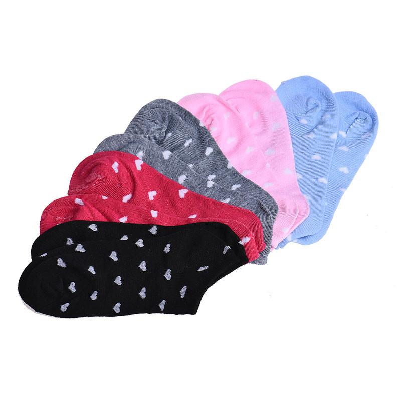 [해외]2017 5 쌍 여성 캐주얼 발목 낮은 컷 코튼 양말 Y90130/2017  5 Pairs Womens Casual Ankle Low Cut Cotton Socks Y90130