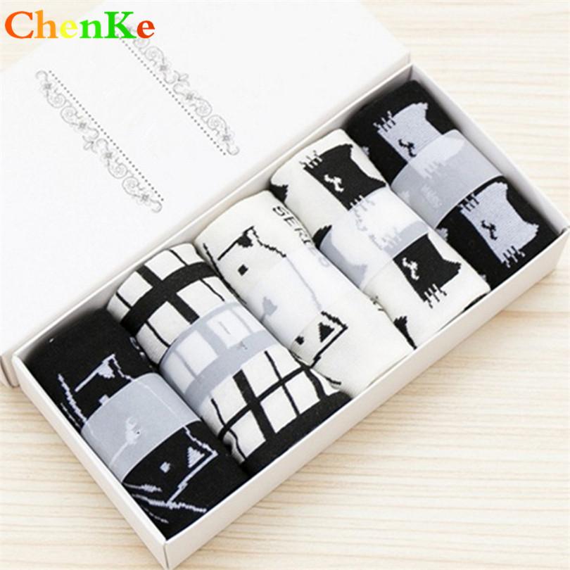 [해외]Chenke 사랑스러운 만화 고양이 인쇄 여성 양말 여성 낮은 잘라 발목 양말 Calcetines Chausseete Mujer면 인쇄 된 여성 양말/ChenKe Lovely Cartoon Cat Printing Female Socks Women Low Cut