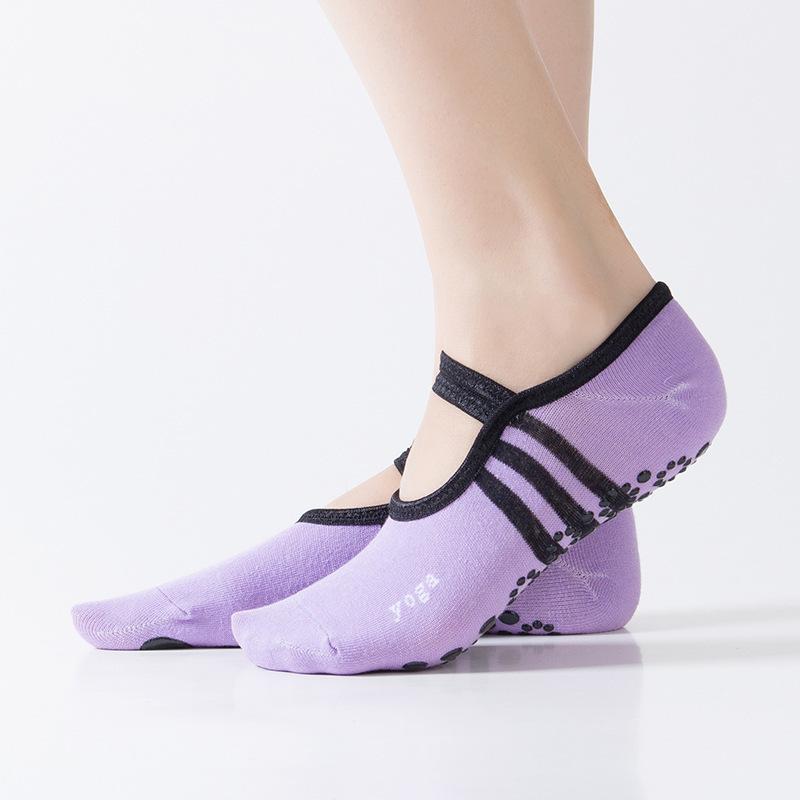 [해외]1 쌍 여성 양말 코튼 아이티 슬립 숙녀 댄스 양말 무 마찰 통기성 편안한 스트레치 피트 솔리드 컬러 양말/1 Pair Women Socks Cotton Aiti Slip Ladies Dance Socks Anti-friction Breathable Comfor