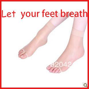 [해외]36PCS = 18쌍 스타킹 초박형 오픈 발가락 스타킹 sandalssh..