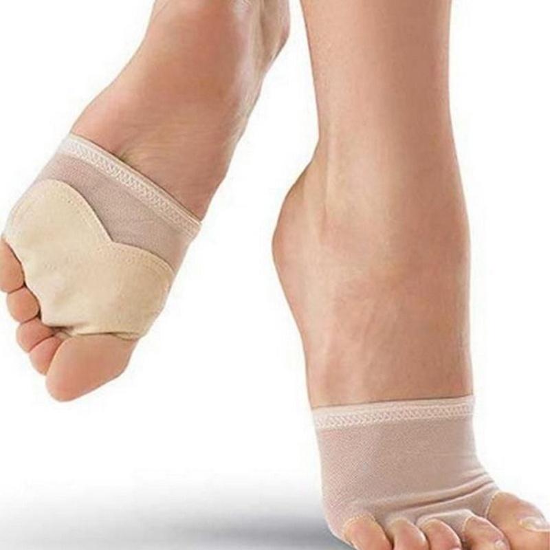 [해외]2016 년 여름 1pair NEW 도착 3Size 여성 밸리 발레 발가락 패드 발 보호 양말 고유 최고/2016 Summer 1pair NEW Arrival 3Size Women Belly Ballet  Toe Pad Feet Protection Socks U