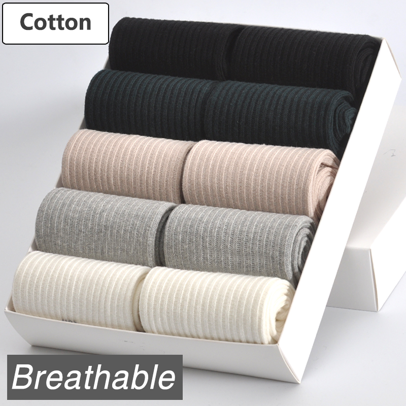 [해외]10 쌍 / 많은 여자면 양말 브랜드 새로운 5 색상 편안한 통기성 튼튼한 패션 스타일 여자 여성 양말/10 Pairs/ Lot Women Cotton Socks Brand New 5 Colors Comfortable Breathable Durable  Fash