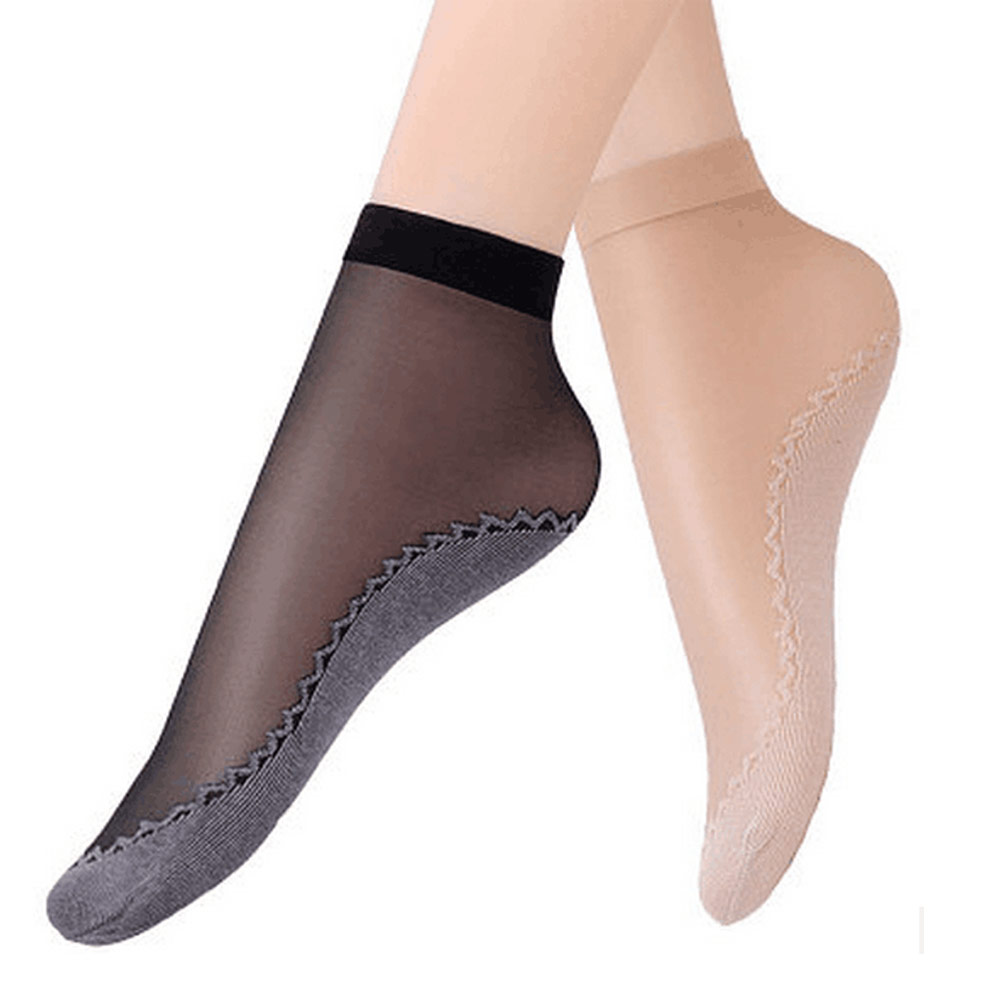 [해외]여성 양말 2017 신품 6pairs / lot 벨벳 양말 면직물 미끄럼 방지 발 마사지 슬립 방지 짧은 봄 여름/Women Socks 2017 New 6pairs/lot Velvet Socks Cotton Bottom Non Slip Sole Massage W